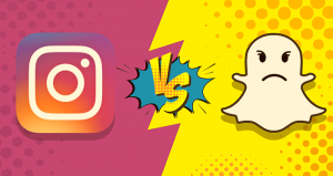 Instagram Snapchat app