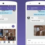 Viber Keyboard's shopping feature