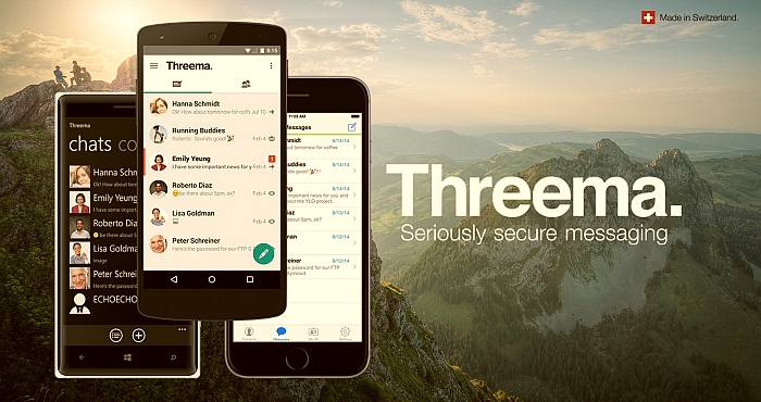 Threema messaging app