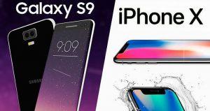 Samsung Galaxy S iPhone X