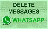 delete whatsapp messenger messages
