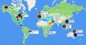 Snap Map snapchat