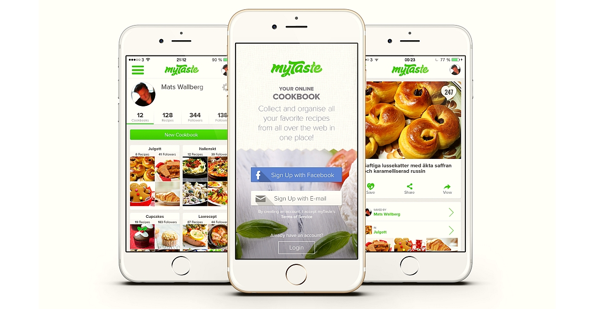 Download Hatcook, Cookpad and MyTaste Apps for your Smartphone