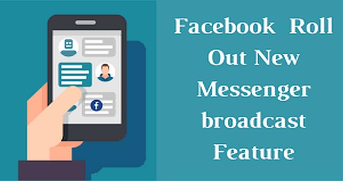 Facebook Messenger Broadcasting