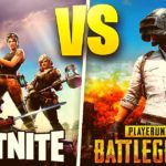 Fortnite vs PUBG
