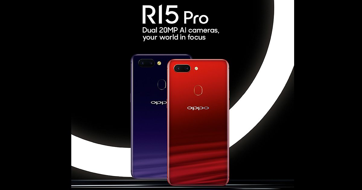 OPPO R15 Pro Useful Notch