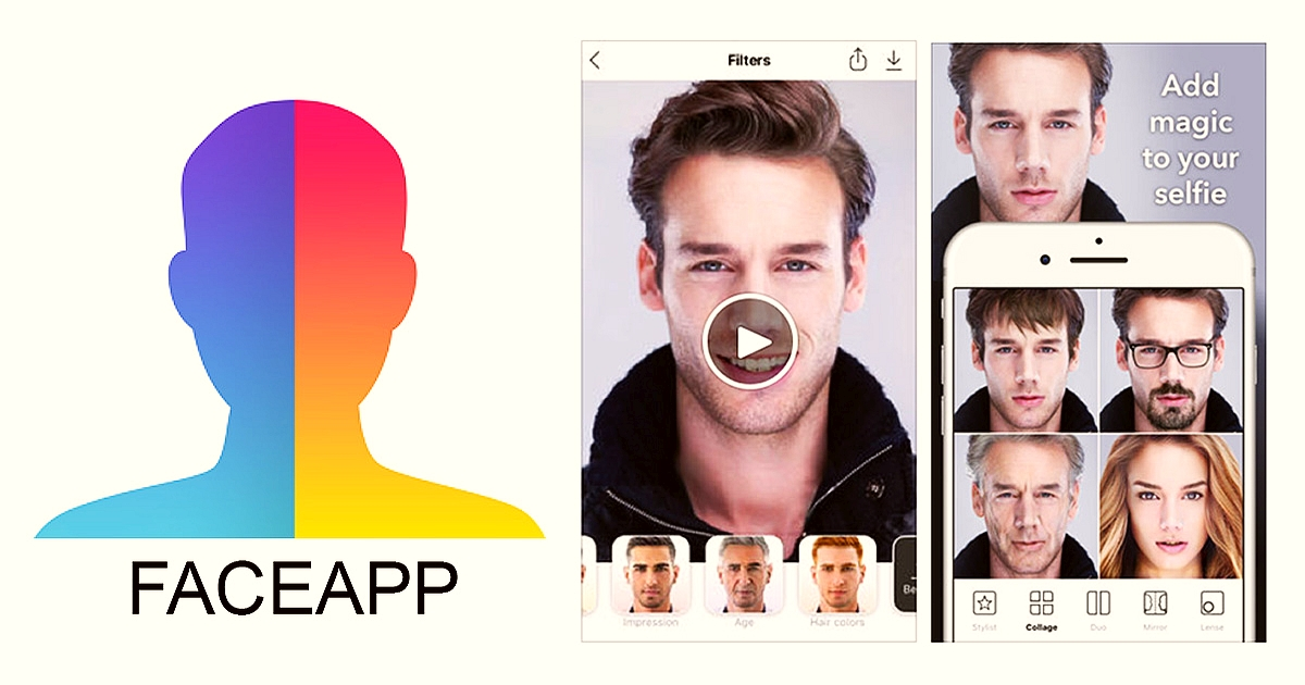 Download FaceApp and say WOW!