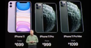 iPhone 11 Pro or 11 Pro Max? iPhone 11 with Job's Shirt iPhone 11 smartphone 4
