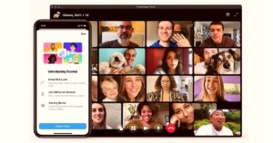 Facebook Introduces Screen Sharing in IOS & Android facebook messenger rooms zoom 8