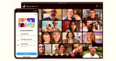 Facebook Introduces Screen Sharing in IOS & Android facebook messenger rooms zoom 3